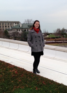 This month I checked out a new green roof research site in Chicago.
